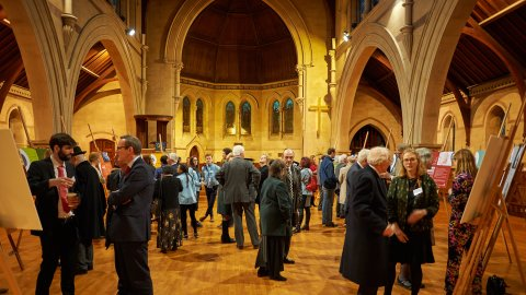 Photograph from the TT&TP Launch, a connecting Pembroke event.