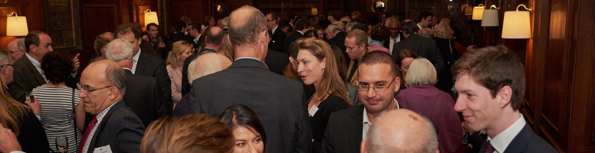 Photo of our Partners networking at Corporate Partnership Event