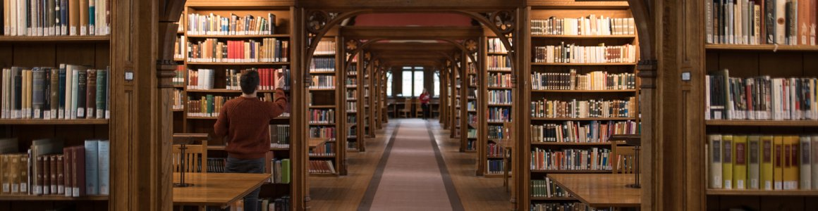 Image of Pembroke College Library, a beautiful Victorian building