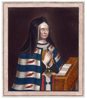 Painting of Lady Foundress
